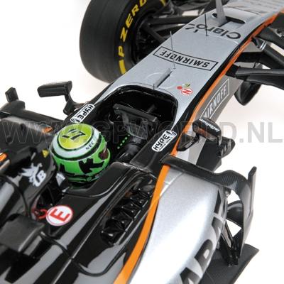 2016 Nico Hulkenberg - 1/18 Minichamps RESIN - GPworld Racing Merchandise