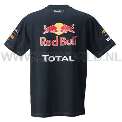 red bull racing team t shirt gpworld racing merchandise. Black Bedroom Furniture Sets. Home Design Ideas