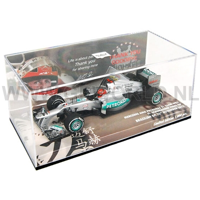 2012 Michael Schumacher | Brazil - 1/43 Minichamps - GPworld Racing Merchandise