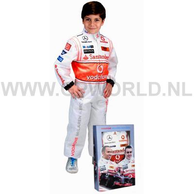 McLaren Kinderoverall - - GPworld Racing Merchandise