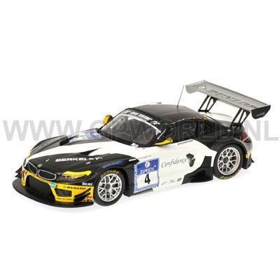 2011 Bmw Z4 Gt3 4 1 43 Minichamps Gpworld Racing