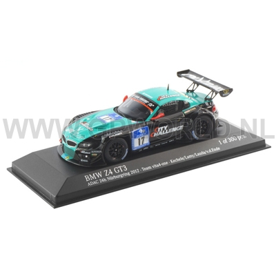 2012 Bmw Z4 Gt3 17 1 43 Minichamps Gpworld Racing