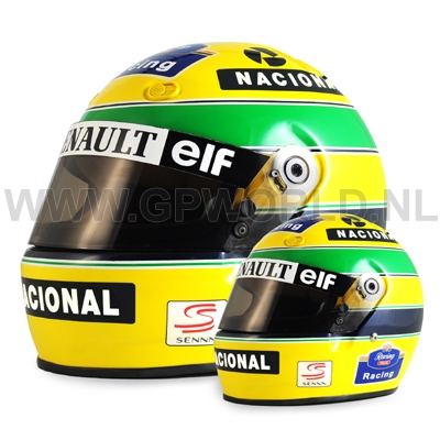 1994 helm ayrton senna 1 2 bell sports gpworld racing. Black Bedroom Furniture Sets. Home Design Ideas