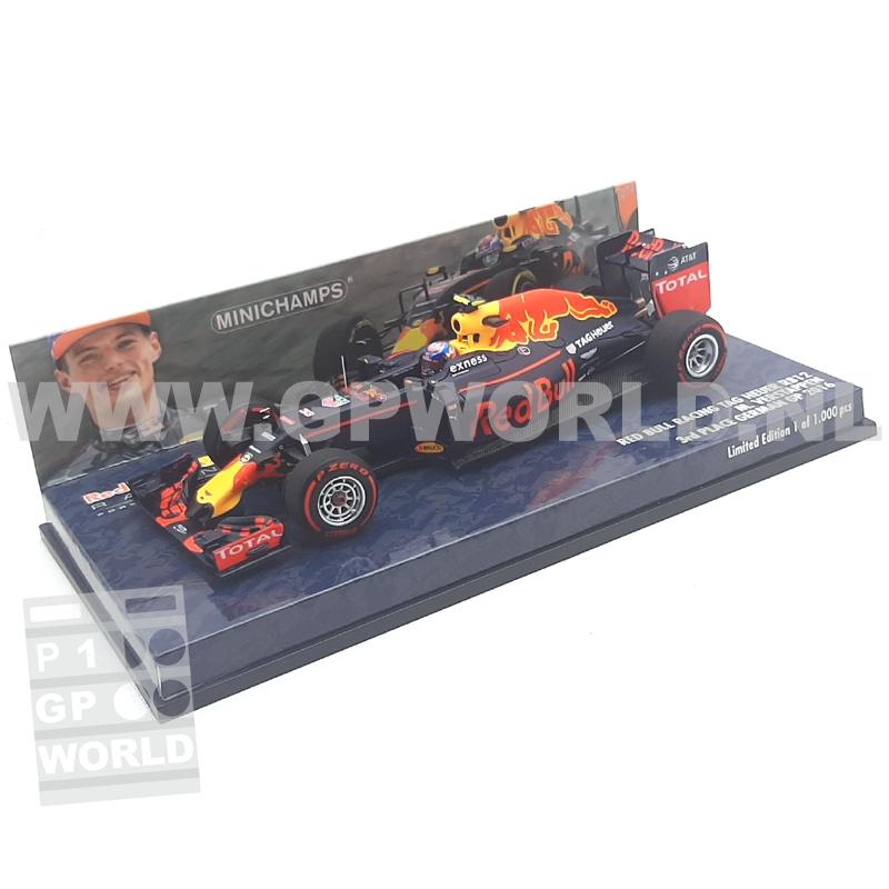 2016 Max Verstappen | Germany - 1/43 Minichamps Resin ...