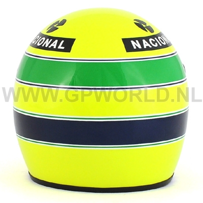 1985 helm ayrton senna 1 2 bell sports gpworld racing. Black Bedroom Furniture Sets. Home Design Ideas