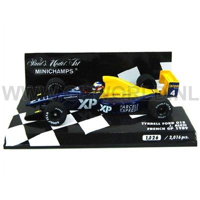 1989 Jean Alesi - 1/43 Minichamps - GPworld Racing Merchandise