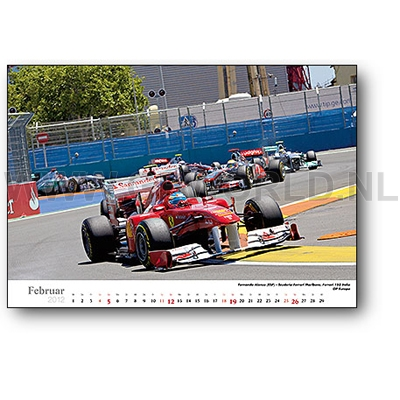 2012 faszination formel 1 kalender gpworld racing merchandise. Black Bedroom Furniture Sets. Home Design Ideas