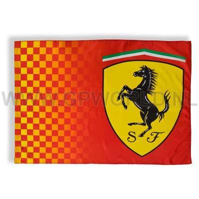 Ferrari Vlag Gpworld Racing Merchandise