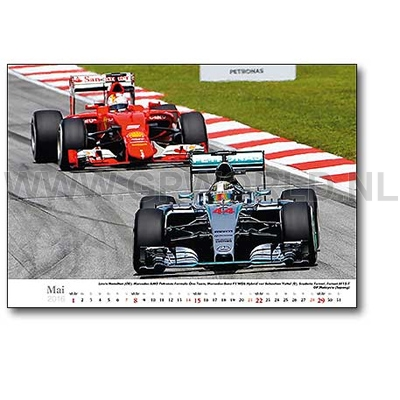 2016 faszination formel 1 kalender gpworld racing merchandise. Black Bedroom Furniture Sets. Home Design Ideas