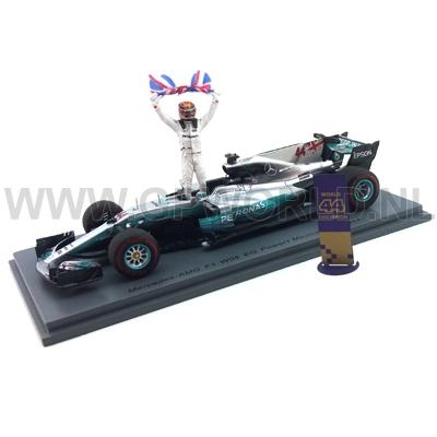 2017 Lewis Hamilton | Mexico - 1/43 Spark Models - GPworld Racing Merchandise