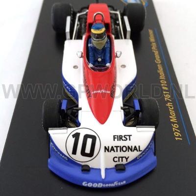 March 761 italia gp winner 1976 Ronnie Peterson TSM-Model 1:43 tsm124329
