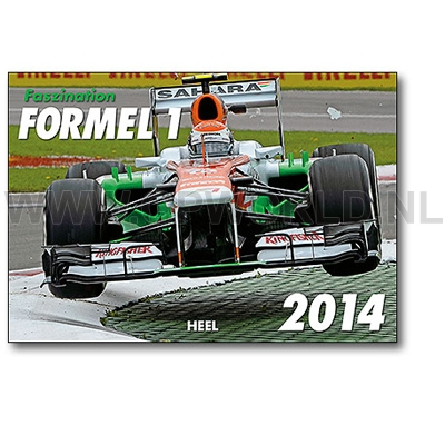 2014 faszination formel 1 kalender gpworld racing merchandise. Black Bedroom Furniture Sets. Home Design Ideas