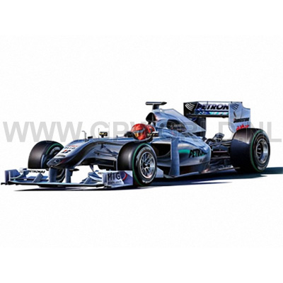 2010 mercedes f1 gp kit 1 24 revell gpworld racing. Black Bedroom Furniture Sets. Home Design Ideas