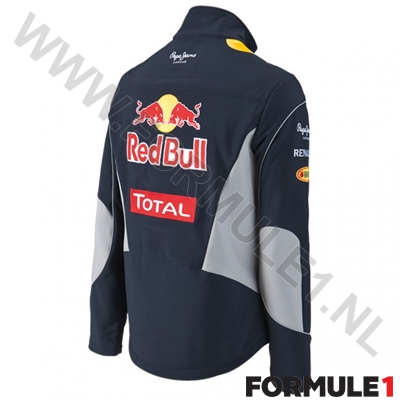 2013 Red Bull Softshell jas - - Formule1.nl Shop