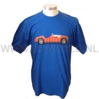 Fila Ferrari crew T-shirt blue