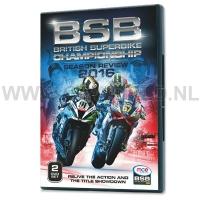 DVD British Superbike 2016
