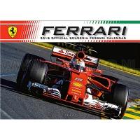 2018 Official Ferrari F1 kalender