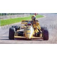 1987 Saturo Nakajima / Ayrton Senna