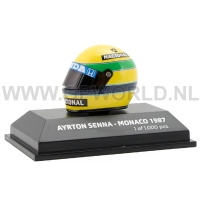 1987 helm Ayrton Senna | Monaco