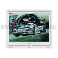 litho 1997 Mercedes CLR/ SLK