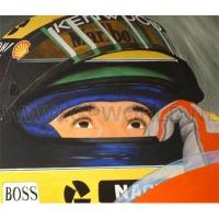 Ayrton Senna ansichtkaart