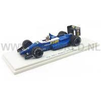 1988 Andrea de Cesaris | Belgium GP