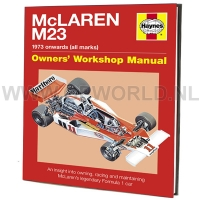 McLaren M23 Owners' Manual